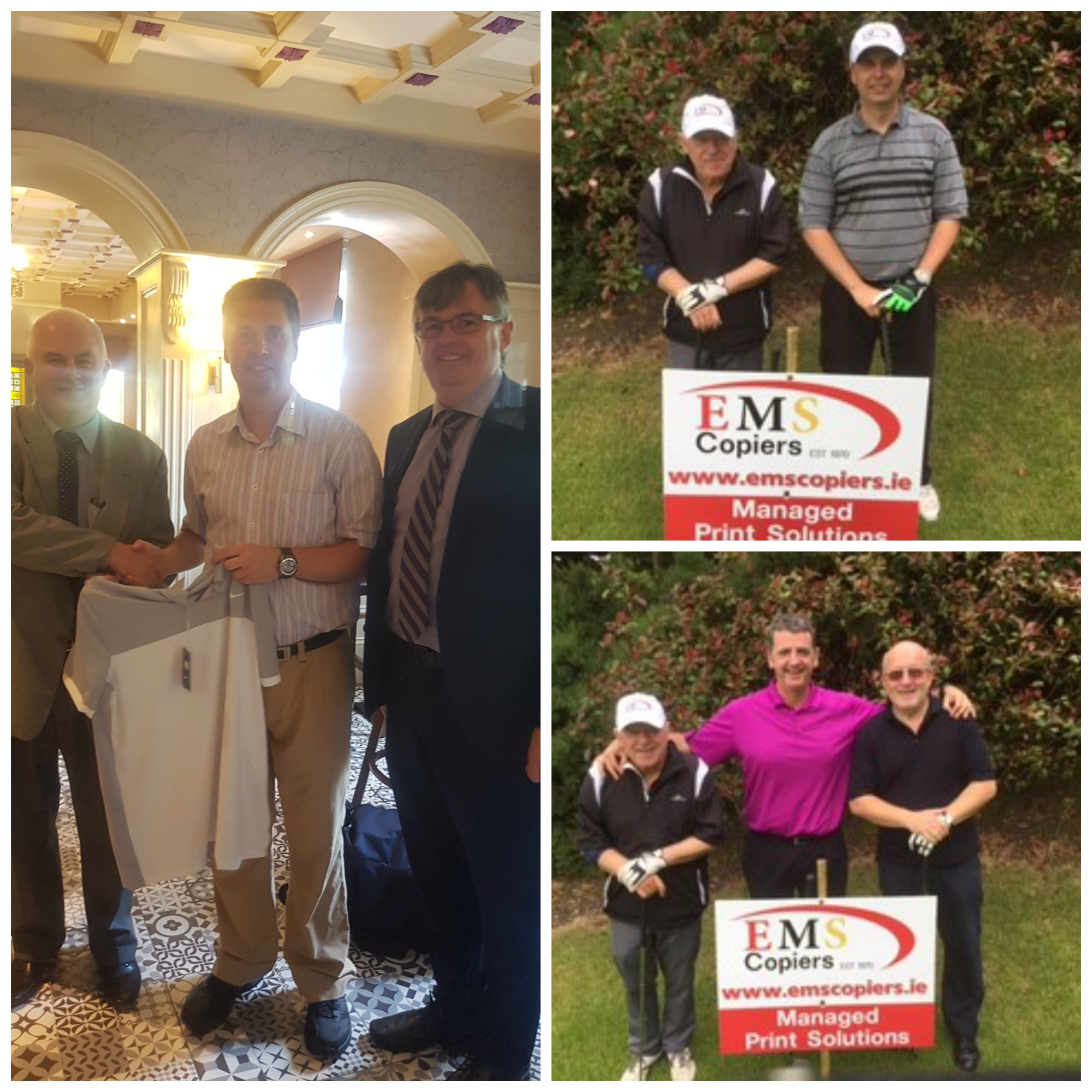 Tallaght Golf Day Collage