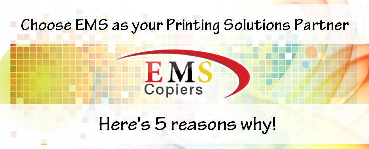 Choose EMS Copiers