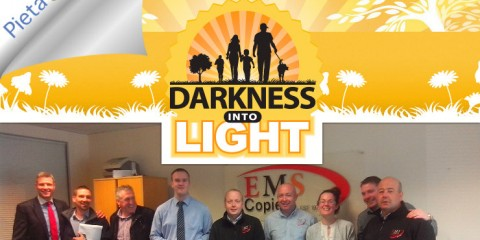 EMS Copiers Team for Darkness Into Light Run