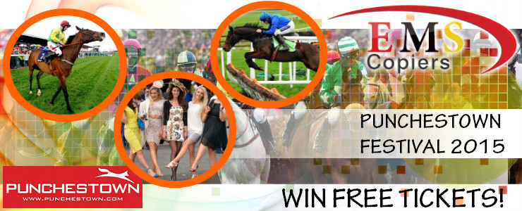 Punchestown Festival 2015 Free Tickets from EMS Copiers
