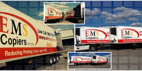 EMS Copiers New Lorries