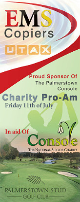 EMS Sponsoring Palmerstown Console Charity Pro-Am
